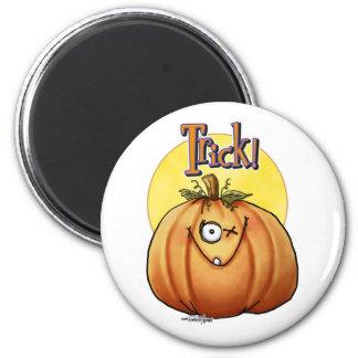 Trick Pumpkin button Magnet