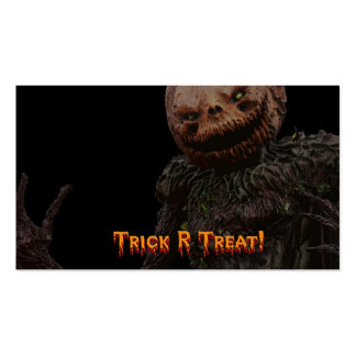 trick r treat Double-Sided standard business cards (Pack of 100)