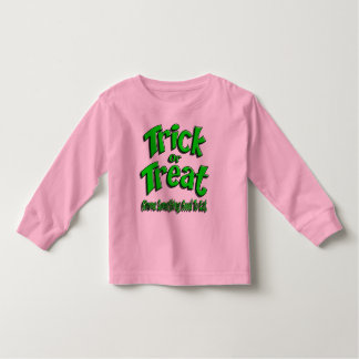 Trick R Treat Gimme Green Toddler T-shirt