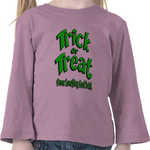 Trick R Treat Gimme Green T Shirts