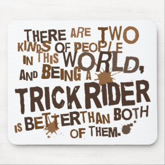 Trick Rider Gift Mouse Pad