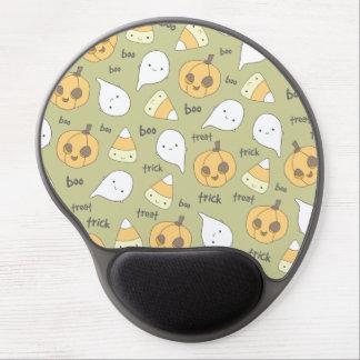 Trick Treat Boo Cute Halloween Gel Mouse Pad