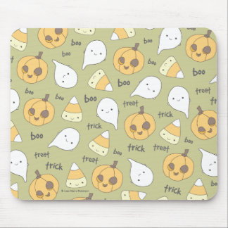 Trick Treat Boo Halloween Mousepad