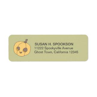 Trick Treat Boo Halloween Return Address Labels