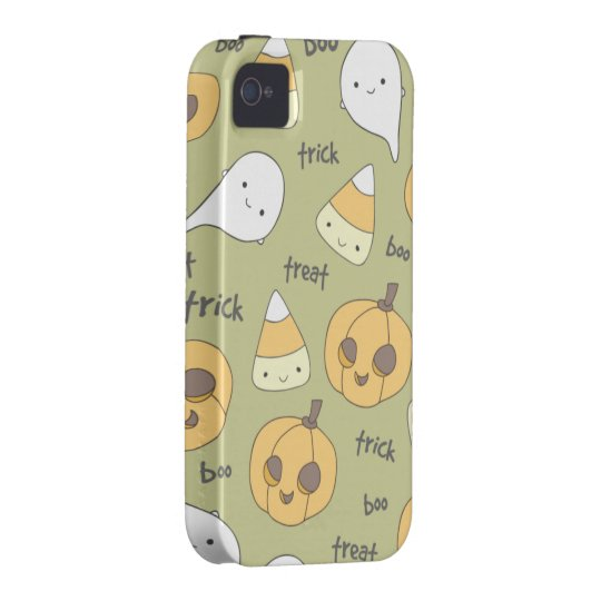 Trick Treat Boo iPhone 4 Case