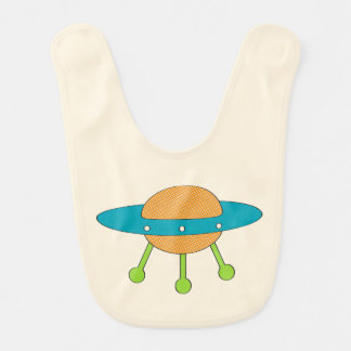 Tricked Out Spaceship Baby Bibs