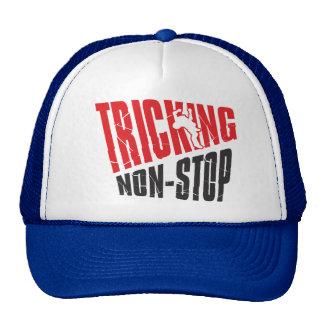 Tricking non-stop trucker hat