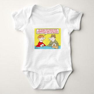 trickle down economics baby bodysuit