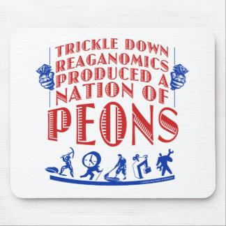 Trickle Down Reaganomics Mouse Pad