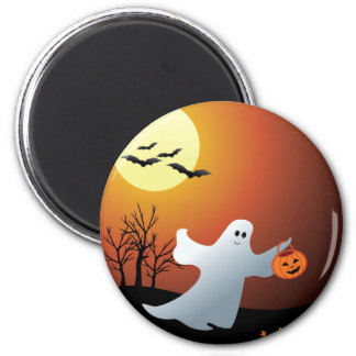 TrickOrTreat two Button Refrigerator Magnet