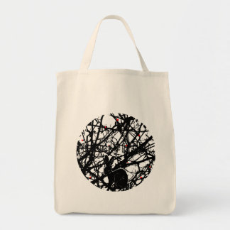 Trickster Rabbit in Briar Patch Tote Bag