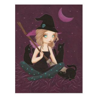 Tricksters - postal de hadas de la bruja del gótic