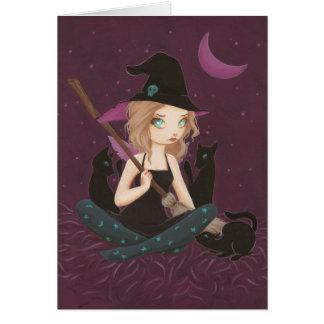 Tricksters - tarjeta de hadas de la bruja del góti