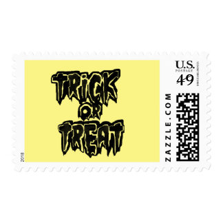 TrickXtreat halloween Postage