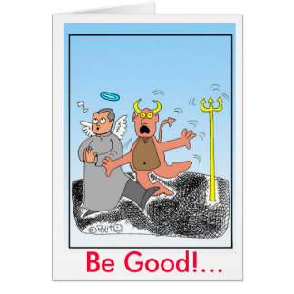 tricky angelCOLOR, Be Good!... Card