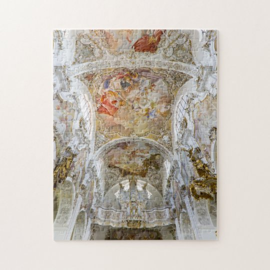 Tricky Baroque ceiling puzzle