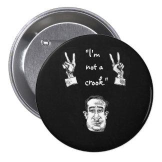 Tricky Ted Cruz Pinback Button