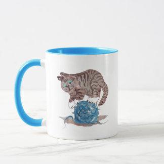 Tricky to Balance on a  Yarn Ball Mug
