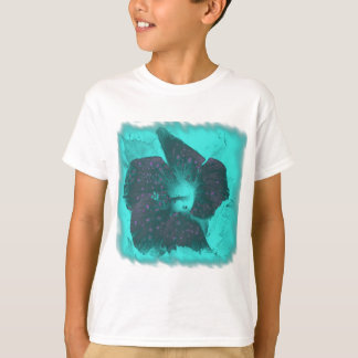Tricolor Abstract Hibiscus T-Shirt