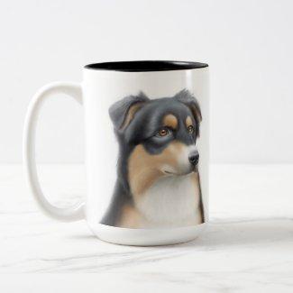 Tricolor Australian Shepherd Mug mug