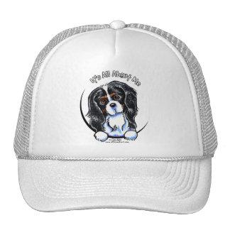 Tricolor Cavalier CKCS IAAM Trucker Hat