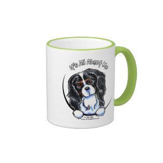 Tricolor Cavalier CKCS IAAM Ringer Coffee Mug