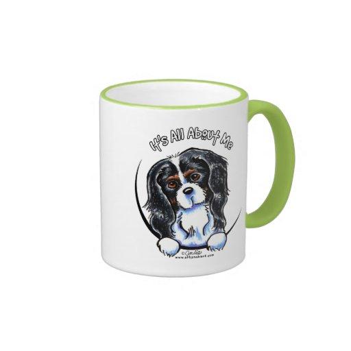 Tricolor Cavalier CKCS IAAM Ringer Mug