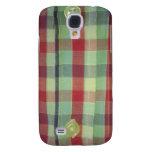 Tricolor check shirt HTC vivid / raider 4G cover