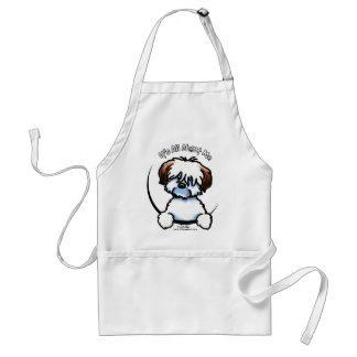 Tricolor Coton Its All About Me Adult Apron