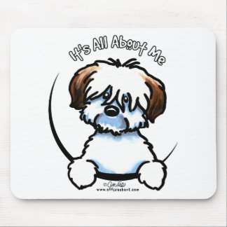 Tricolor Coton Its All About Me Mouse Pad
