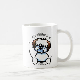 Tricolor Coton Its All About Me Classic White Coffee Mug