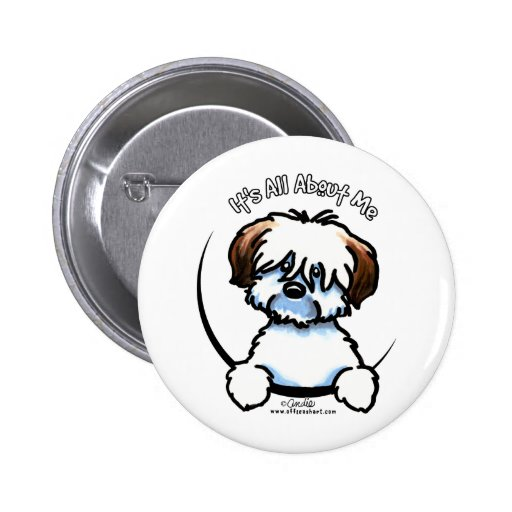 Tricolor Coton Its All About Me Pins