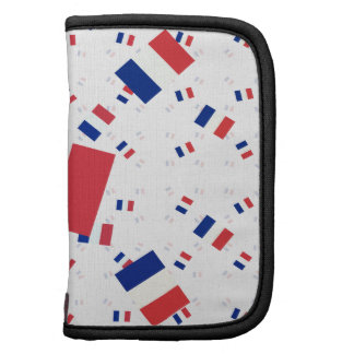 Tricolor France Flag in Multiple Layers Askew Folio Planners