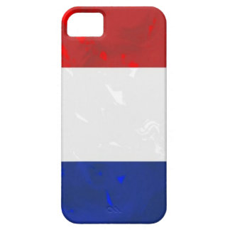 Tricolor french flag code003 iPhone SE/5/5s case