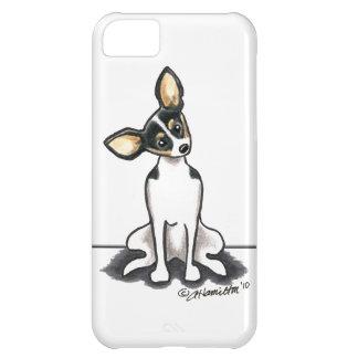Tricolor Rat Terrier Sit Pretty Case For iPhone 5C