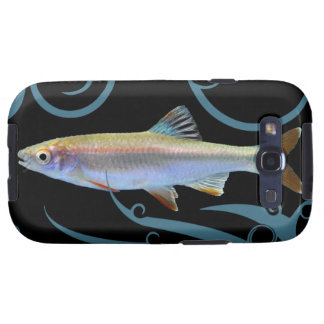 Tricolor Shiner with Stylized Waves Samsung Galaxy SIII Cover