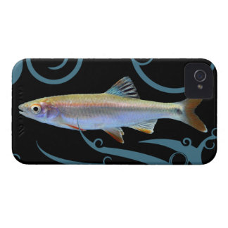 Tricolor Shiner with Stylized Waves iPhone 4 Cases
