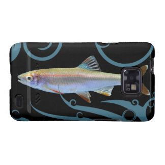 Tricolor Shiner with Stylized Waves Samsung Galaxy S Cover