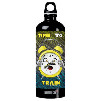 Tricolor Time to Train 1L Water Bottle