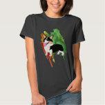 Tricolor Welsh Corgi with a Splash T-shirt