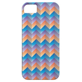 TriColor ZigZag iPhone SE/5/5S Barely There Case