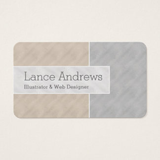 TriColorBlock Business Card