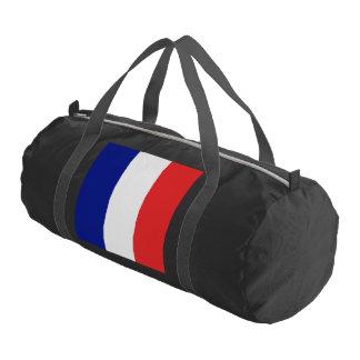Tricolore del francés de la bandera de Francia Bolsa De Deporte
