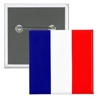 Tricolore Français Pinback Button