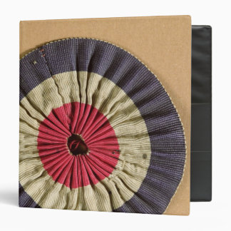 Tricolore rosette binder
