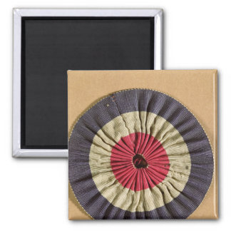 Tricolore rosette magnet