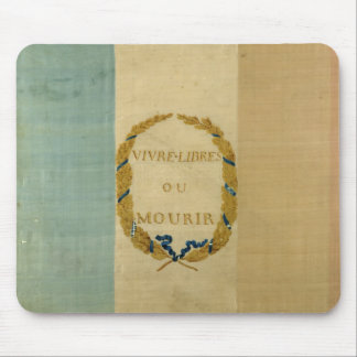 Tricolore with the motto 'Live Free or Die' Mouse Pad