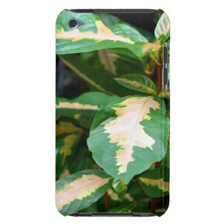 Tricolored Caricature Plant Case-Mate iPod Touch