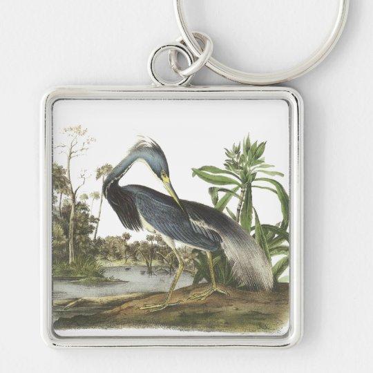 Tricolored Heron, John Audubon Keychain
