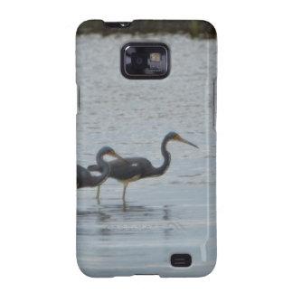 Tricolored Heron Reddish Egret Bird Nature Samsung Galaxy S2 Case